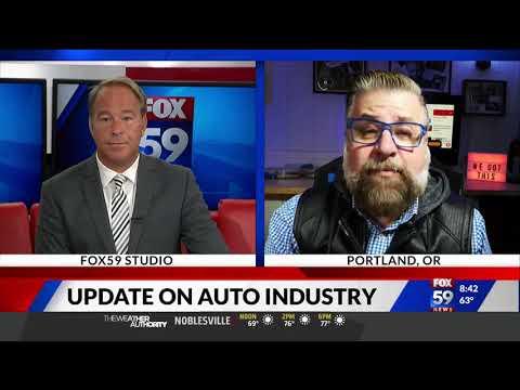 Nik Miles Live Auto Industry Update WXIN Fox 59nbsp