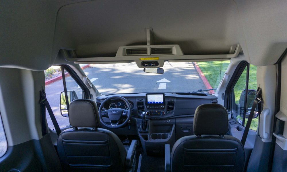 the 2020 Ford Transit 350 AWD van