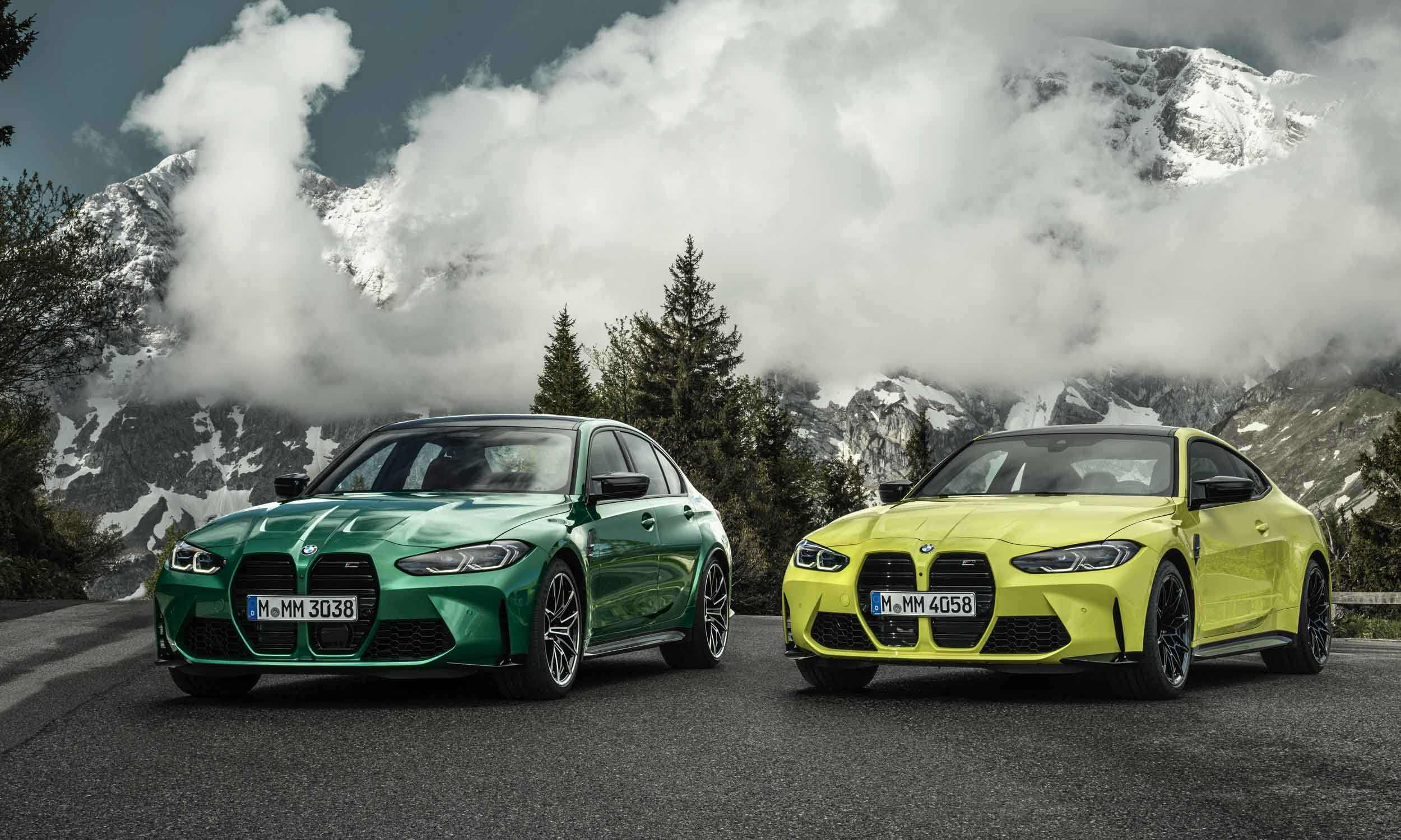 2021 BMW M3 and M4 First Looknbsp