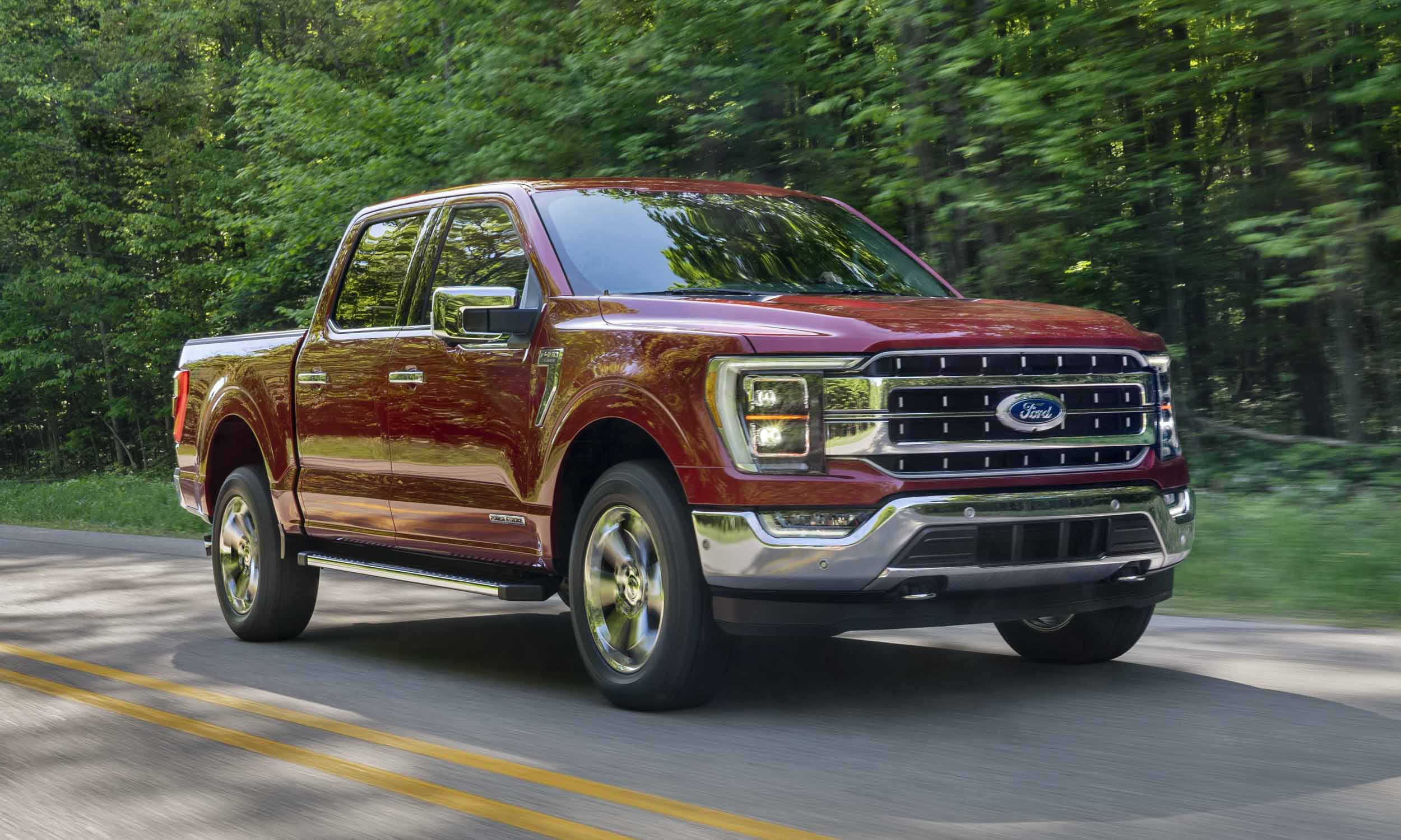 Ford F150 Wins 2021 North American Truck of the Yearnbsp