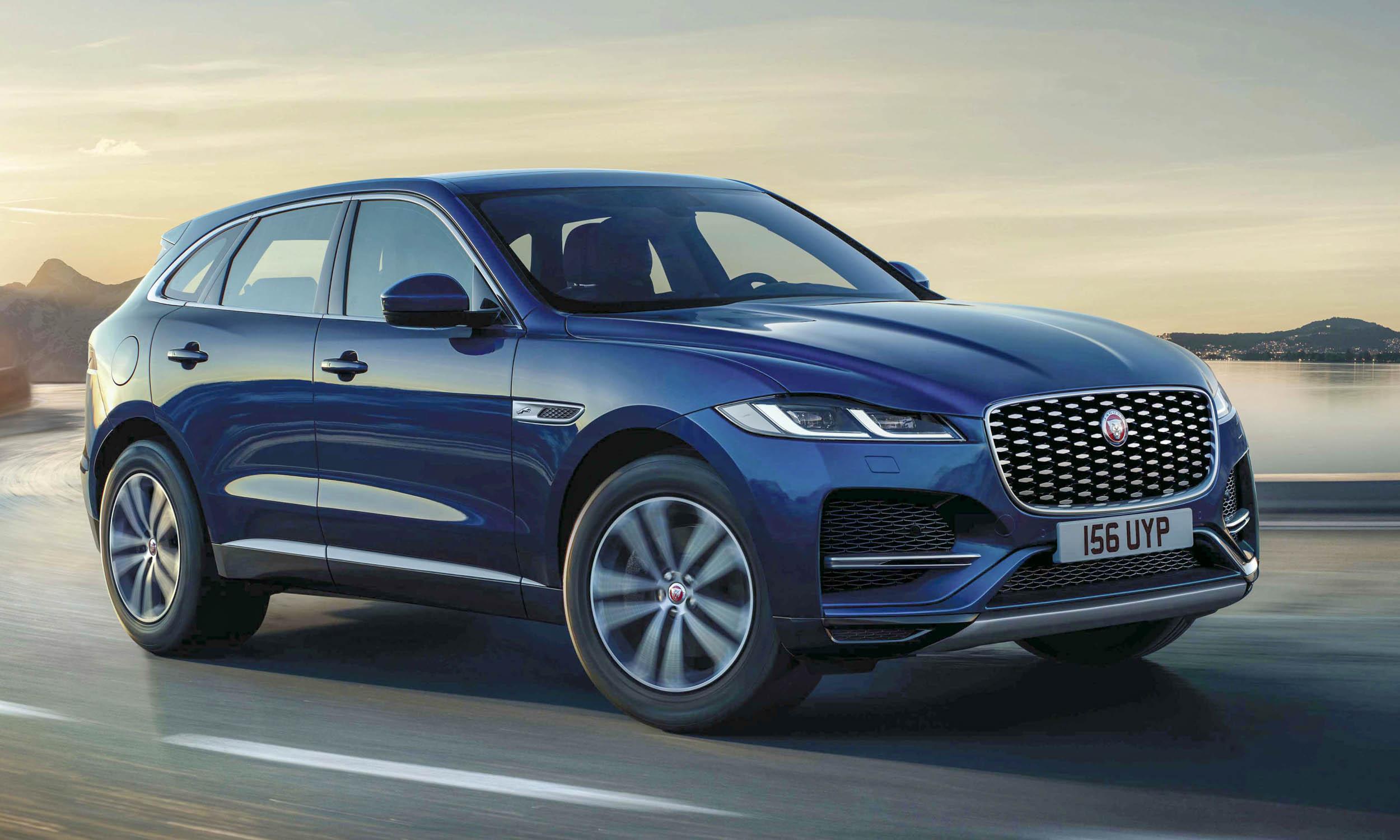 2021 Jaguar FPACE First Looknbsp