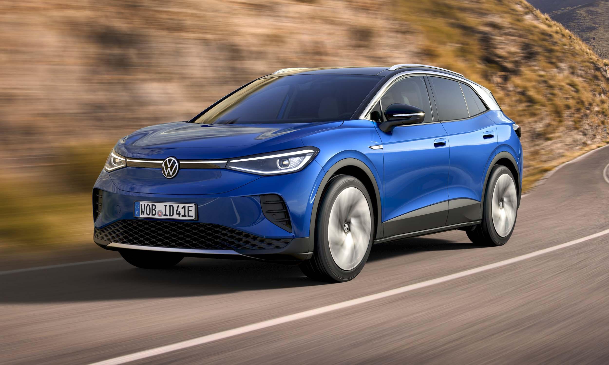 2021 Volkswagen ID4 First Looknbsp