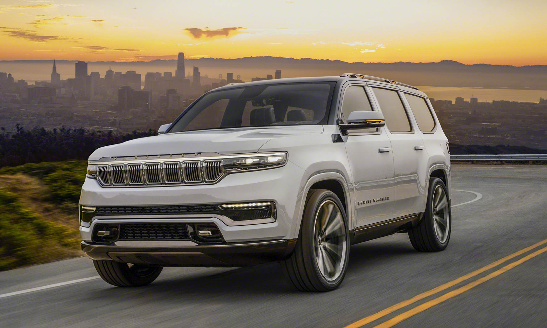 Jeep Grand Wagoneer Concept Delivers Premium Stylenbsp