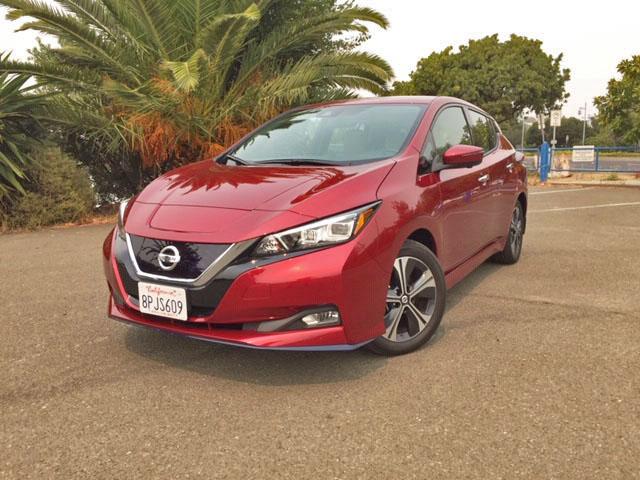 2020 Nissan Leaf SL+ Test Drive