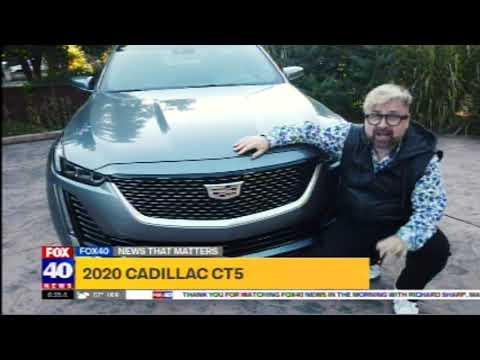 Nik Miles Cadillac CT5 KTXL Fox 40 09 11 2020 06 25 28