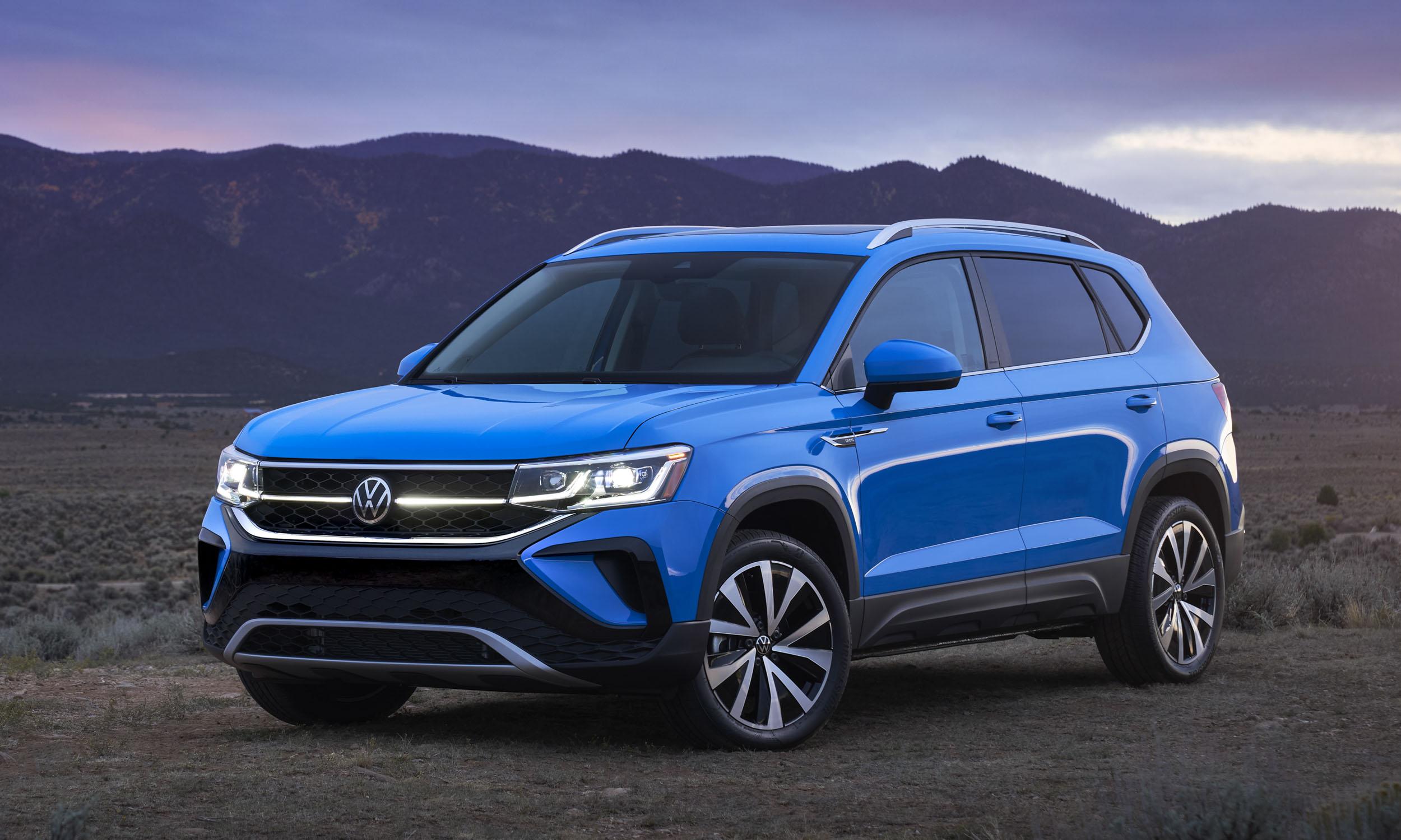 2022 Volkswagen Taos First Looknbsp