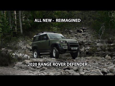 2020 Range Rover Defender