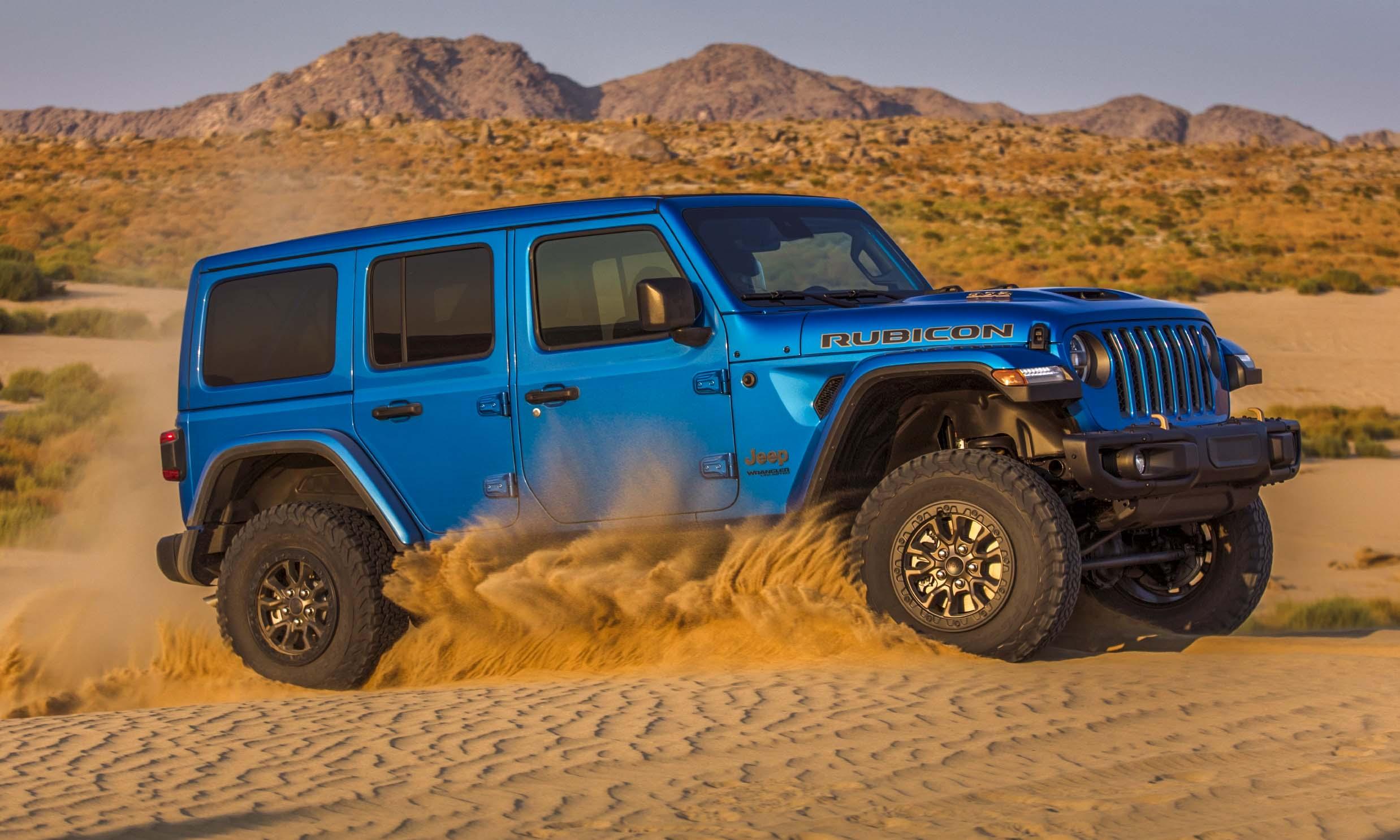 2021 Jeep Wrangler Rubicon 392 The V8 Is Backnbsp