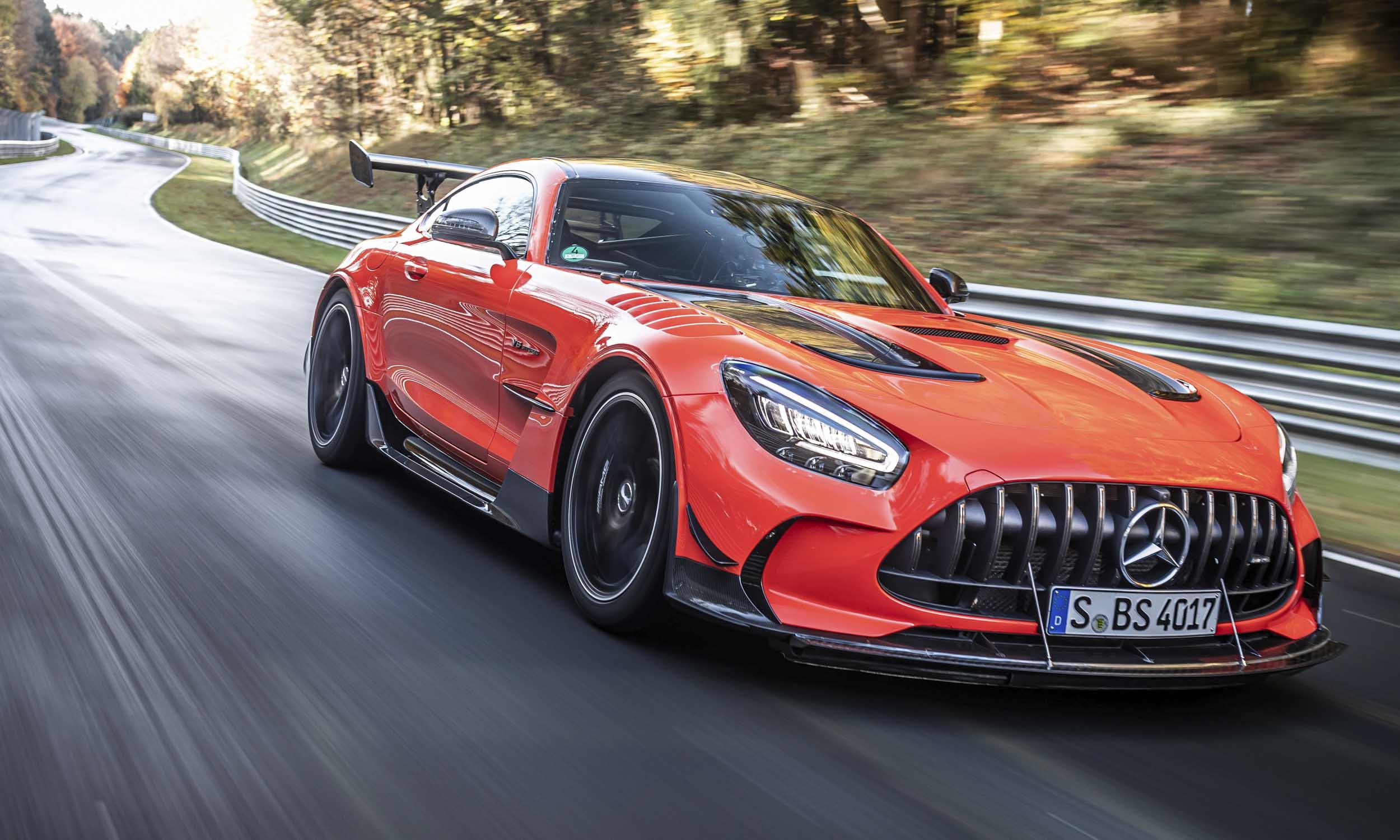 MercedesAMG GT Fastest Production Car at Nurburgringnbsp