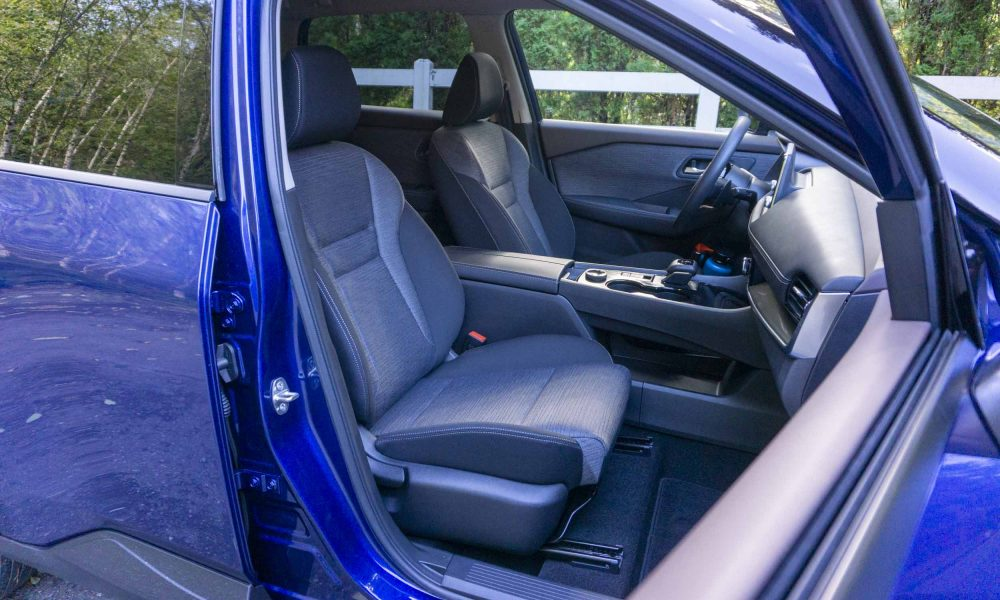 2021 Nissan Rogue passenger seat