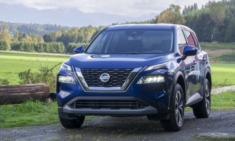 2021 Nissan Rogue grill