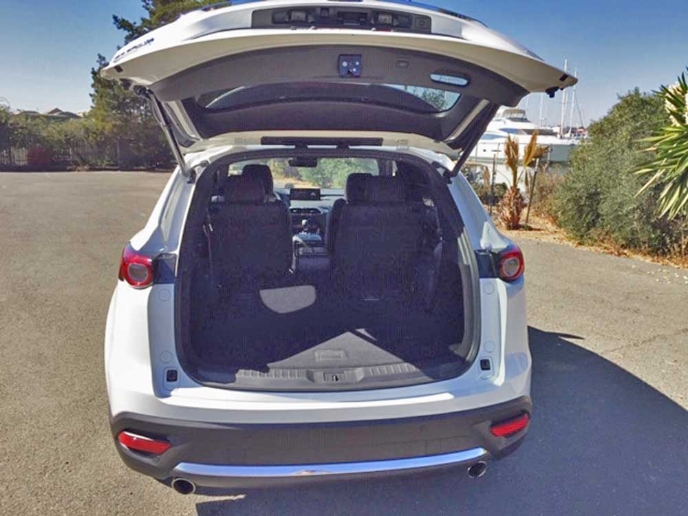 2021 Mazda CX-9 Signature AWD trunk