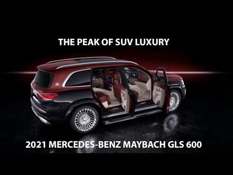 2021 Mercedes Benz Maybach GLS 600