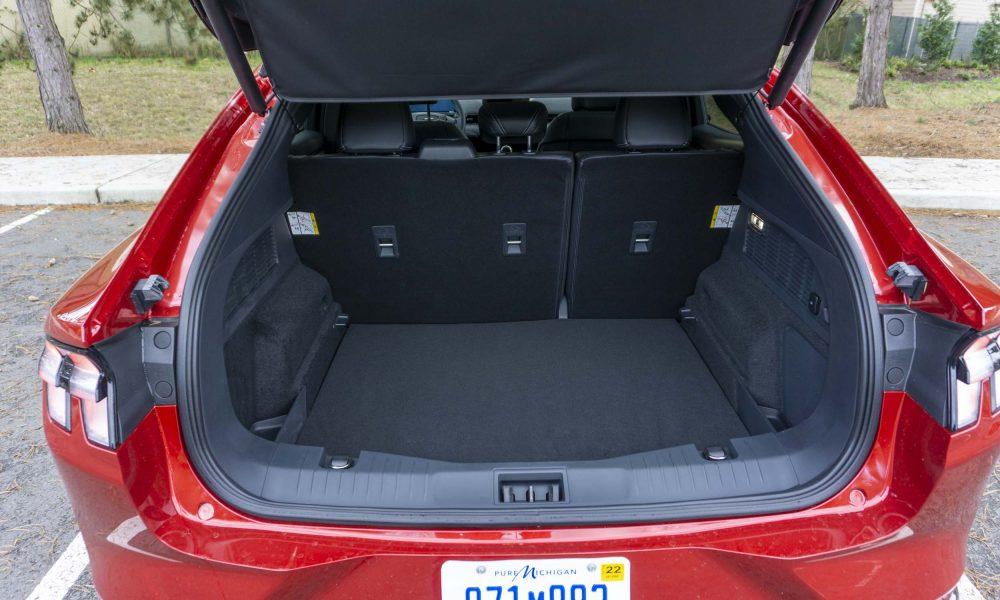 2021 Ford Mustang Mach-E trunk