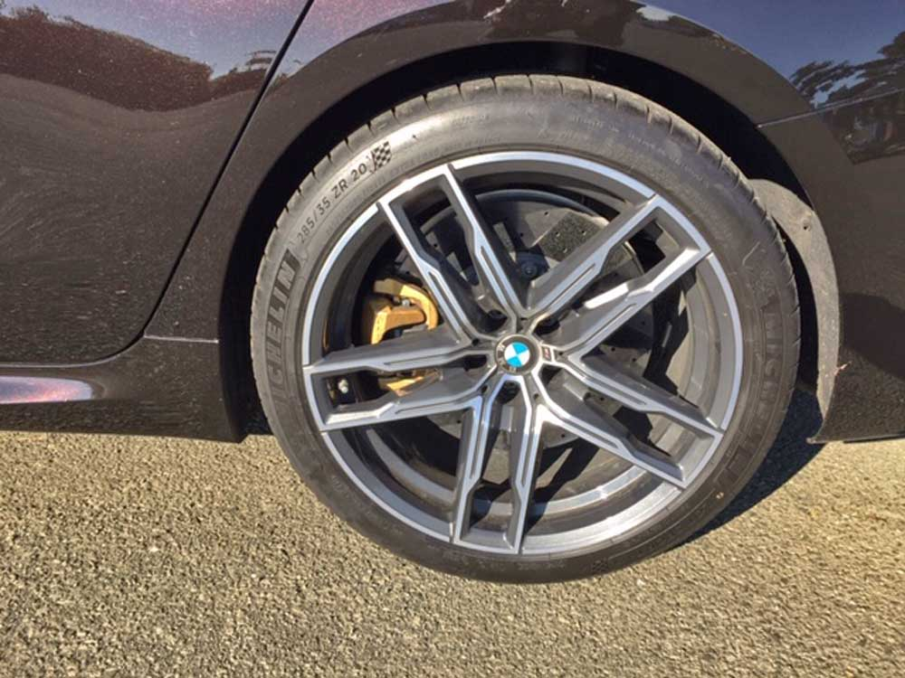 2020 BMW M8 Gran Coupe tires