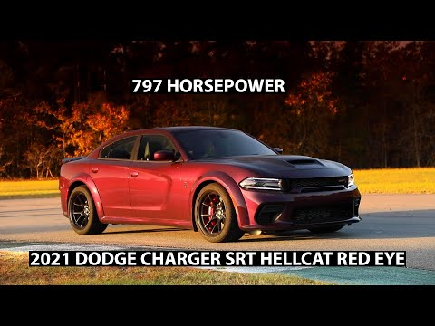 2021 Dodge Charger SRT Hellcat Red Eye
