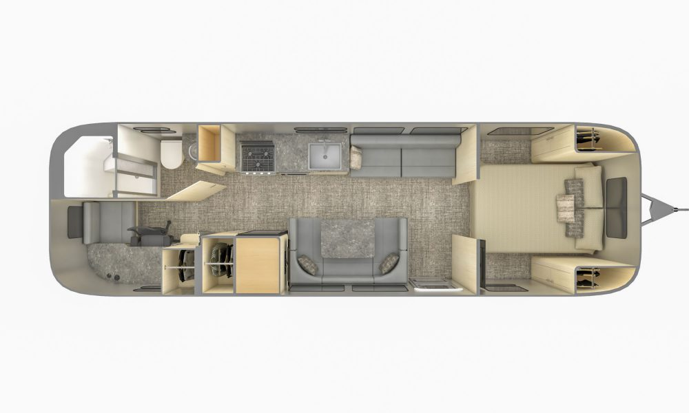 2021 Airstream Flying Cloud 30FB Office travel trailer