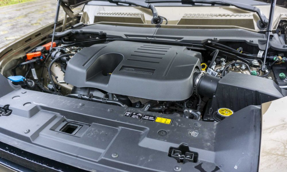 2020 Land Rover Defender engine