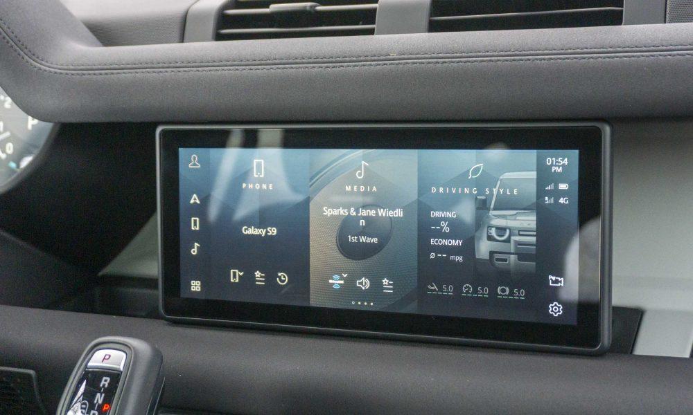 2020 Land Rover Defender technology