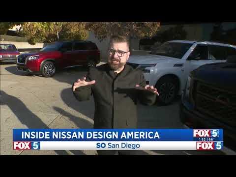 Our Auto Expert Live from Nissan Design Center KSWB Fox 5 03 24 2021 13 48 57amnbsp