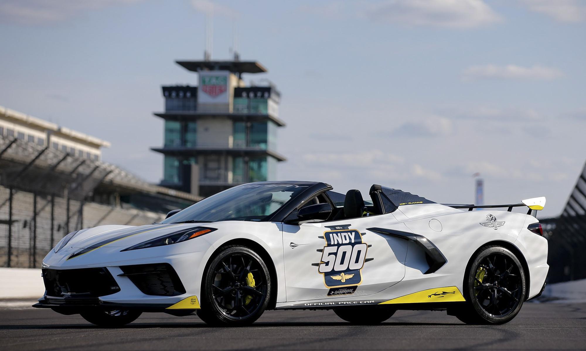 Chevrolet Corvette Convertible to Pace 2021 Indianapolis 500nbsp