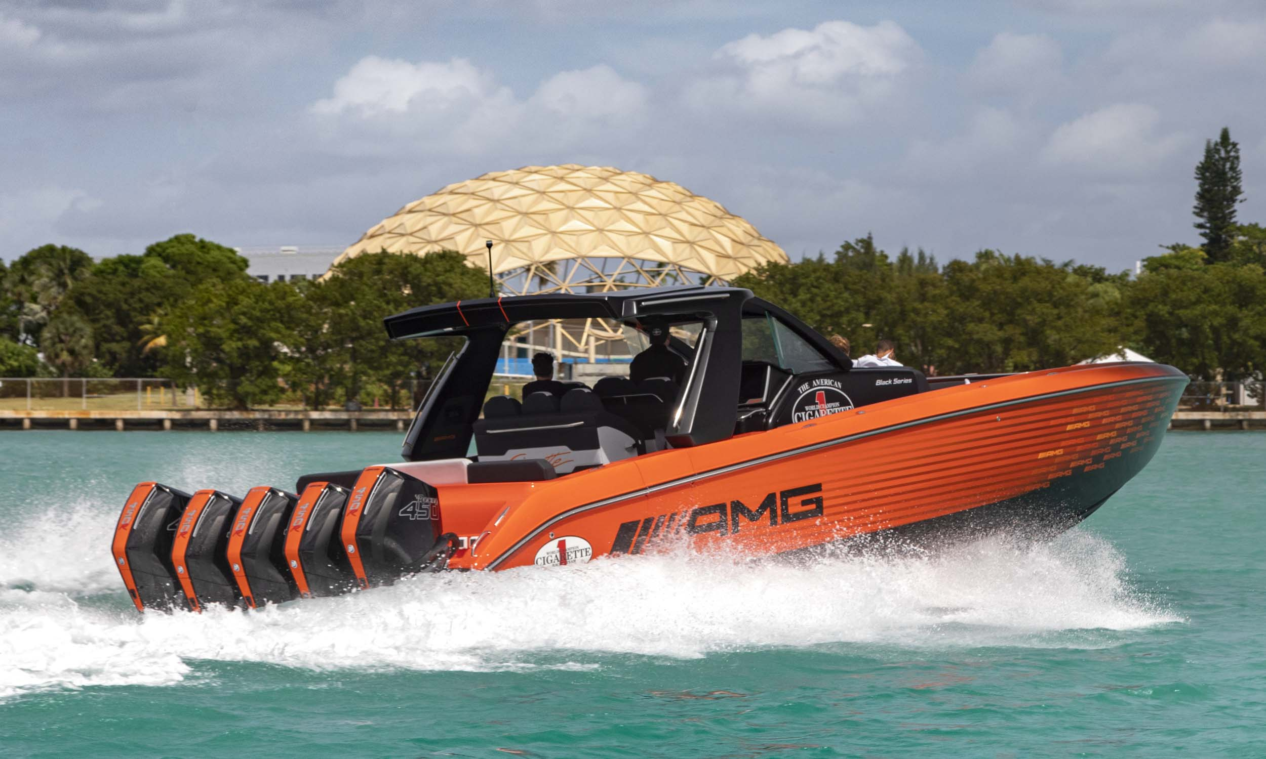 Revealed 2250HP Nighthawk AMG Black Series Boatnbsp