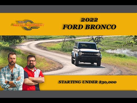 2022 Ford Bronco