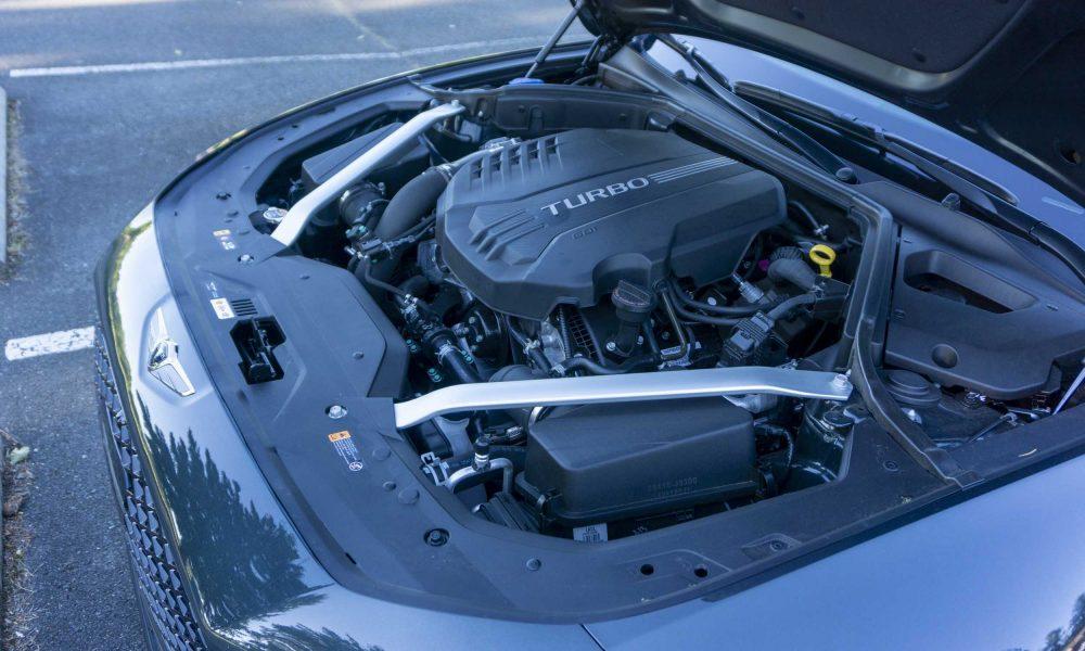 2022 Genesis G70 engine