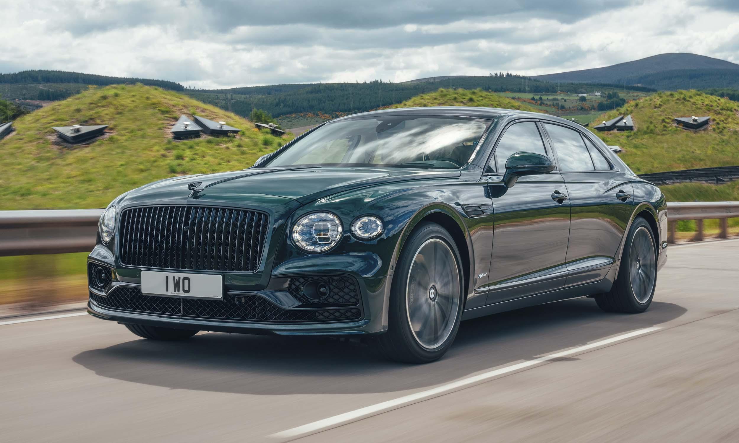 Bentley Flying Spur Hybrid: First Look