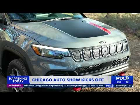 Our Auto Expert Live New Vehicles at the Chicago International Auto Show WPIX 11nbsp