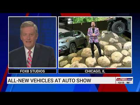 Our Auto Expert Live New Vehicles at the Chicago International Auto Show WGHP Fox 8nbsp