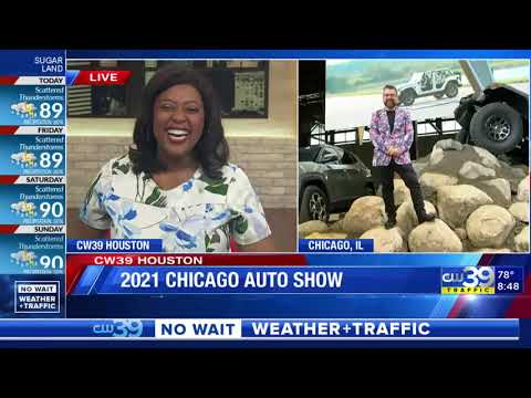 Our Auto Expert Live New Vehicles at the Chicago International Auto Show KIAH CW 39nbsp
