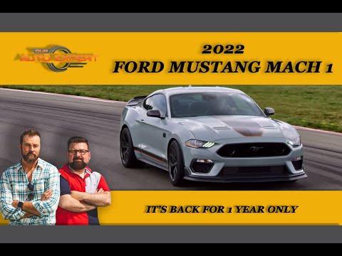 2022 Ford Mustang Mach 1nbsp