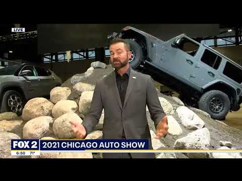 Our Auto Expert Live New Vehicles at the Chcago International Auto Show WJBK Fox 2nbsp