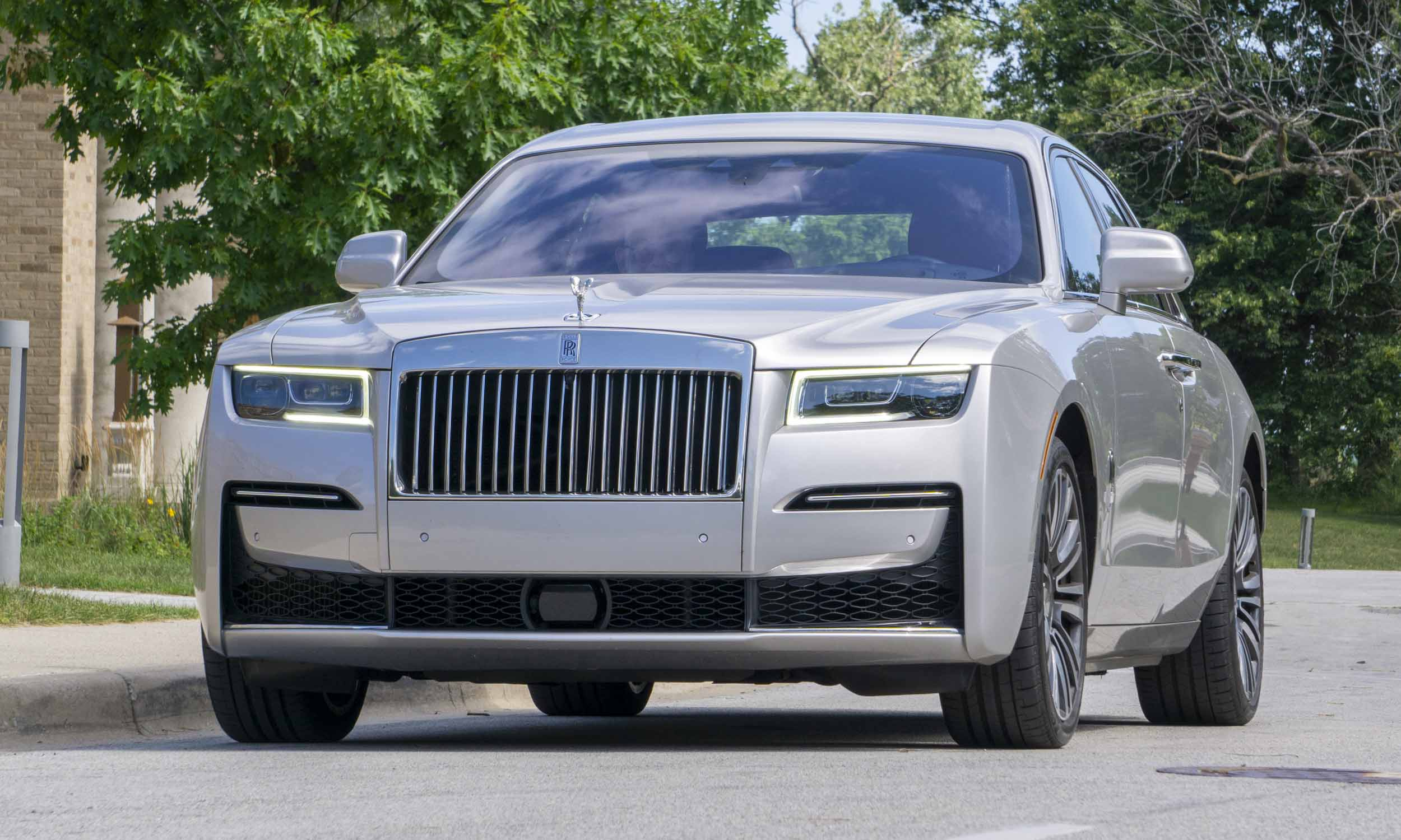 2021 Rolls-Royce Ghost front view