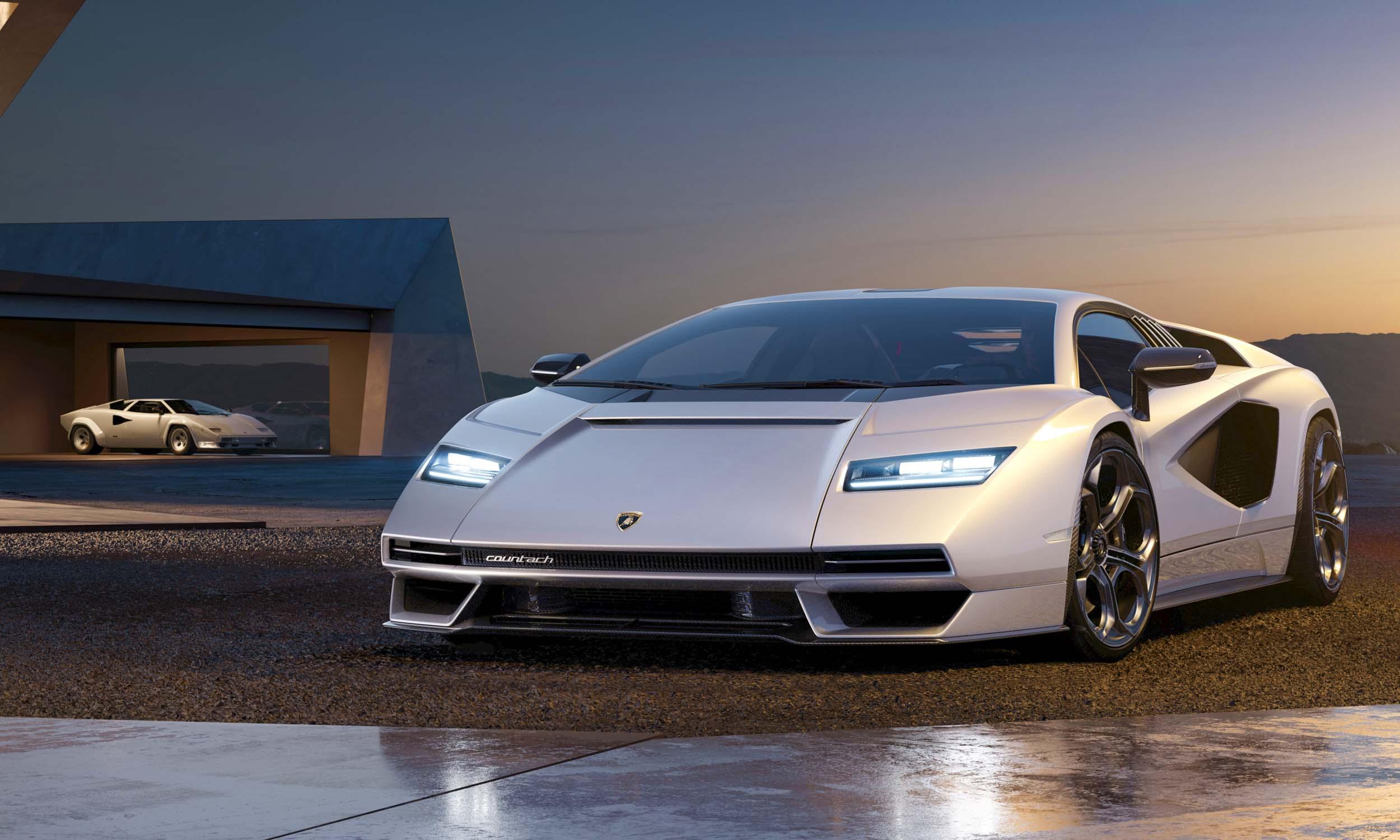 In Photos: Return of the Legendary Lamborghini Countach