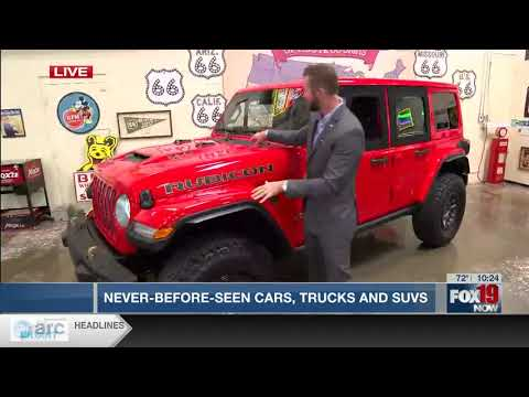 Our Auto Expert Live New Vehicles Debut WXIX Fox 19nbsp