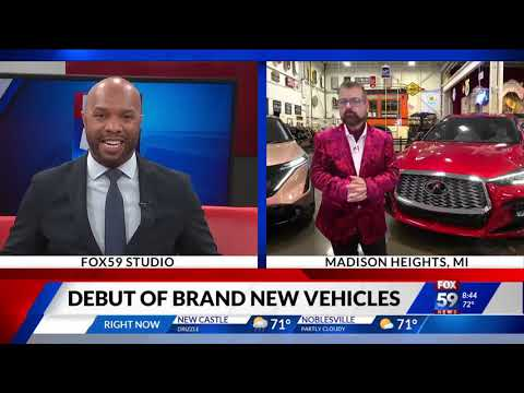 Our Auto Expert Live New Vehicles Debut WXIN Fox 59nbsp