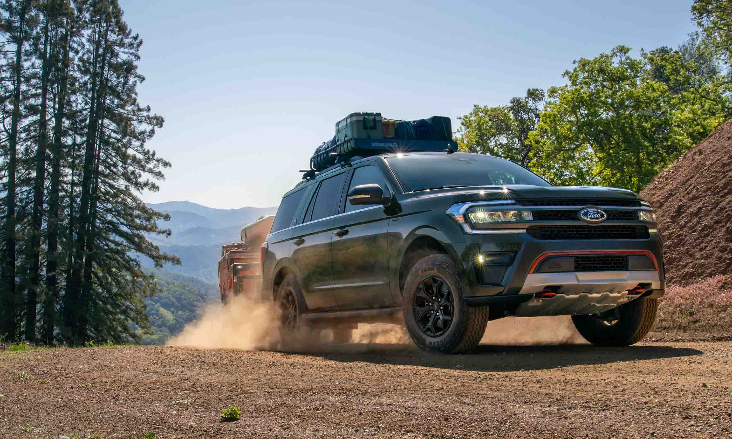 2022 Ford Expedition: Timberline and Stealth Editions Added