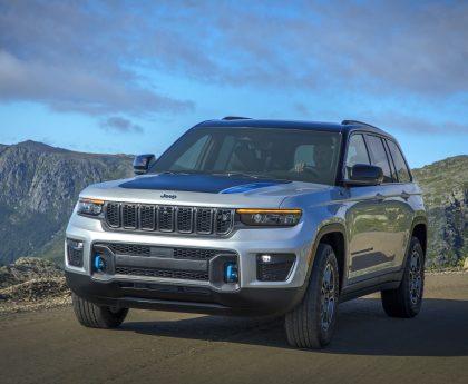 2022 Jeep Grand Cherokee First Looknbsp