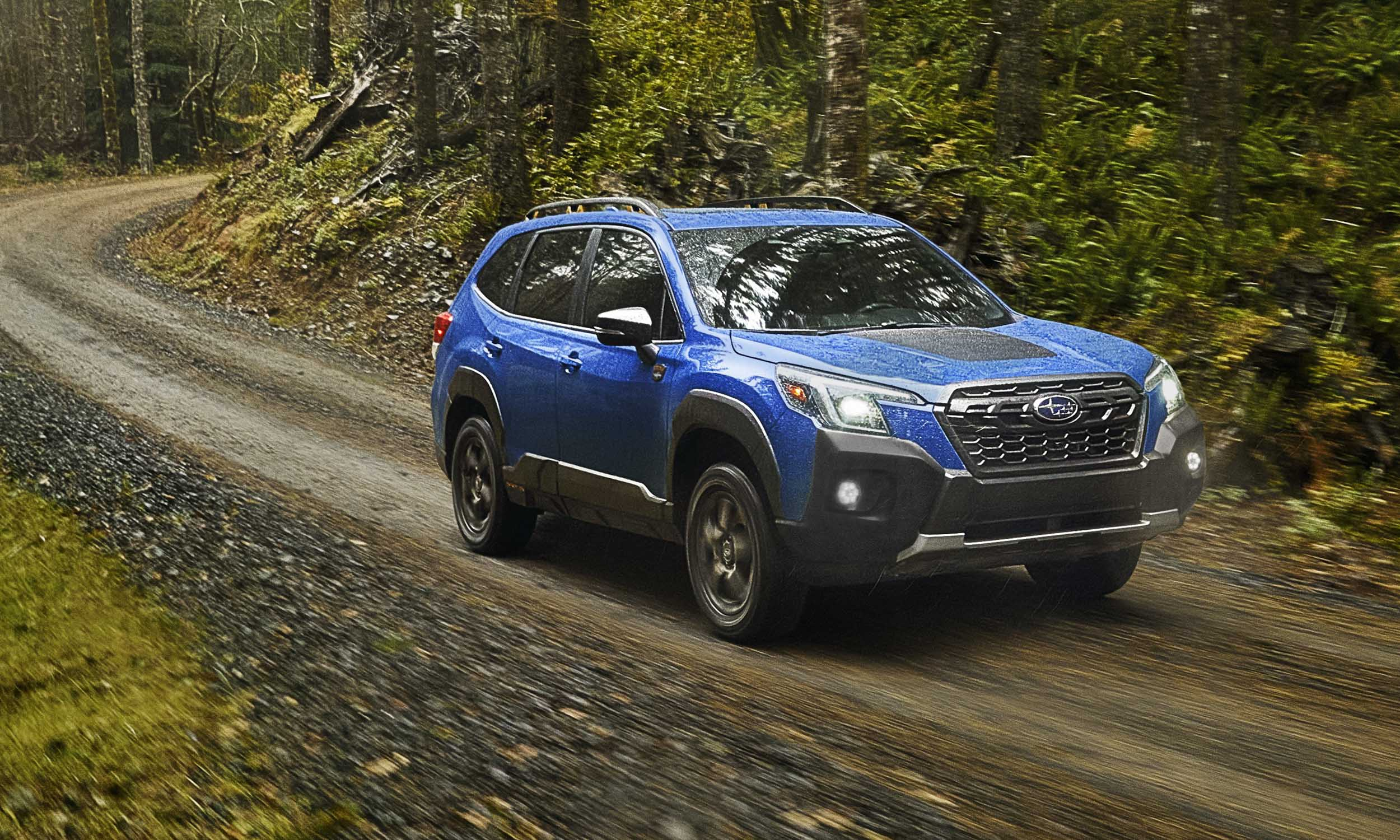 2022 Subaru Forester Wilderness driving