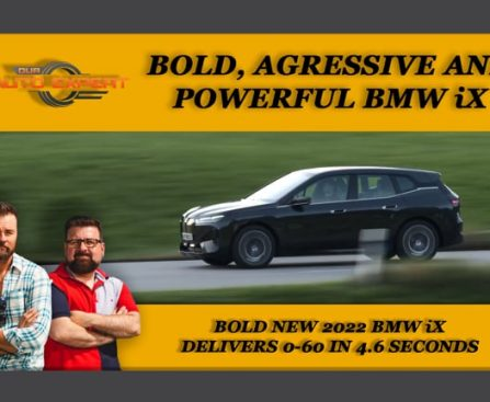 Bold New 2022 BMW iX delivers 0-60 in 4.6 seconds