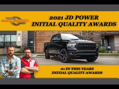 JD Power Initial Quality Awards